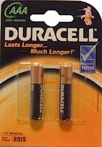 Duracell Pile Alcaline Micro (AAA) - OEM - 2 件