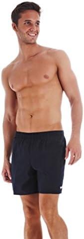 Speedo 速比涛 男式 纯色休闲 16英寸(约40.64cm)Watershorts 泳裤