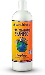 Earthbath ***芒果探戈洗发水护发素二合一,16盎司