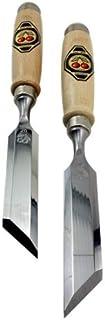 Two Cherries 500-1926 Pair of 26mm Skew Bevel Wood Chisels