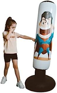 充气拳击袋,*英雄拳击袋,自由站立拳击袋,儿童和成人使用,提高您的健身和技巧