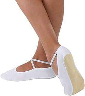 Body Wrappers 女童麂皮健身鞋*蓝 611C -桃红色 2
