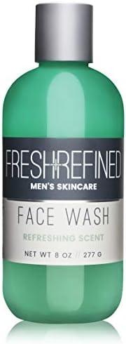 Fresh & Refined 男士洁面乳 - 男士日常洁面乳 - 适合所有肤质 - 8 盎司(约 226.