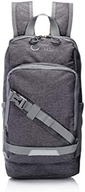 OneTrail Mini Me 10 升小背包 | 适合儿童和成人 | 适合男士、女士、儿童| 适合 11 英寸笔记本电脑 | 防水、粗花呢面料。 杂灰色 One_size
