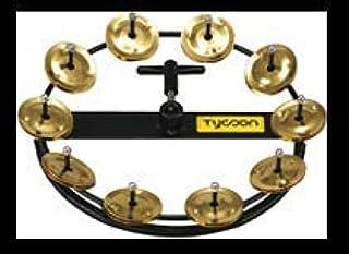 Tycoon Percussion TBHH-10B 大号高帽铃鼓,10 对黄铜叮当