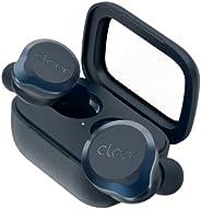 Cleer Audio,Ally Plus II True 无线降噪耳塞,持久 33 小时电池,*佳蓝牙耳塞,智能控制带 Cleer+ 移动应用程序,午夜蓝