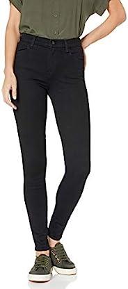 J BRAND 女士23110高腰緊身時尚牛仔褲 Seriously Black, Vanity, 26