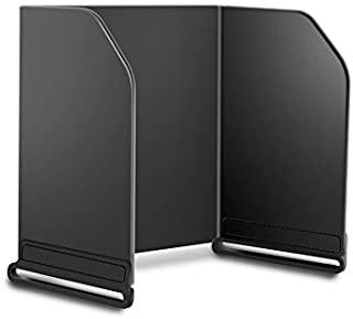 9.7 英寸(约 24.6 厘米)显示器遮阳遮阳罩遥控遮阳罩,适用于 DJI Spark/DJI Mavic pro/Inspire 1 / Phantom 3/Phantom 4 / OSMO 适合 9.7 英寸(约 24.6 厘米)平板电...