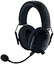 Razer 雷蛇 BlackShark V2 Pro 无线游戏耳机:THX 7.1 空间环绕声 - 50 毫米驱动器 - 可拆卸麦克风 - 适用于 PC、PS4、PS5、Switch、Xbox One、Xbox Seri