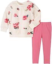 Juicy Couture 橘滋 女童毛衣紧身裤2件套