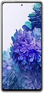 Samsung 三星 Galaxy S20 FE 5G | 工厂解锁 Android 手机 | 128 GB | 美国版智能手机 | 专业级相机 30 倍空间变焦,夜间模式 | 云白色