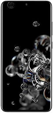 Samsung 三星 Galaxy S20 Ultra 5G Factory解锁新款安卓手机美国版 128GB存储 指纹识别和面部识别 长时待机 宇宙黑
