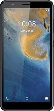 ZTE 智能手机 Blade A31 (13.84 厘米(5.45 英寸)高清+ 显示屏,4G LTE,2GB RAM 和 32GB 内存,8MP 主摄像头,2MP 前置摄像头,双SIM,安卓11 GO)灰色