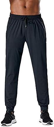 Leglocher 男式徒步裤慢跑裤速干运动登山旅行跑步运动裤运动裤轻便透气