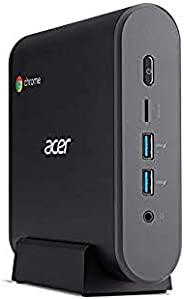 Acer 宏碁 Chromebox CXI3 Mini PC 1 x Core i3 8130U / 2.2GHz 8GB RAM 32GB SSD UHD Graphics 620 GigE 无线 LAN 802.11
