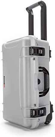 Nanuk 935 Waterproof Hard Case with Wheels and Foam Insert - Silver