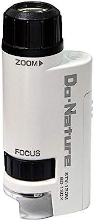 Kenko 显微镜 Do・Nature  60-120倍 LED光 内置 轻巧 便携型  STV-120M
