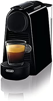De'Longhi 德龙 Nespresso Essenza Mini EN 85.B 胶囊咖啡机入门套装 带有不同口味的胶囊,19bar泵压,空间集约