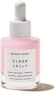 Herbivore - 天然云果冻粉色丰盈保湿精华,含纯素胶原蛋白| 真正天然,洁净的*(1 盎司| 30 毫升)