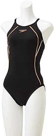 Speedo 速比涛 竞技用训练泳衣 Touch TurnS Suit Touch TurnS Suit 青少年套装 游泳 女孩 STG01901