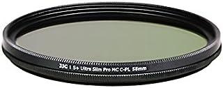 JJC 58 毫米 f-wcpl58 S + 超薄 MC CPL 滤镜 - 黑色