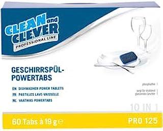 NEUTRAL 2137804 餐具-Powertabs 6合1 – 适用于所有洗碗机,60块标签
