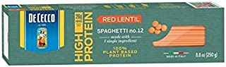 De Cecco Spaghetti No. 12, Red Lentil, 8oz