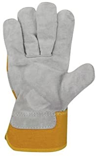 CC USA -gants 分离皮革灰褐色 10
