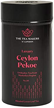 The Tea Makers of London 豪華錫蘭白毫寬松紅茶 125 克 錫罐