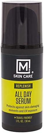 M. Skin Care 男士全天候面部精华液,富含维生素 E ,不含刺激性