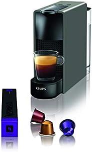 Krups 克鲁伯 Nespresso迷你胶囊咖啡机(1260瓦,恒温块加热系统,0.7升,19巴)灰色