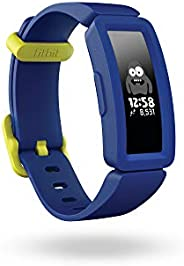Fitbit Ace 2 活動追蹤器適用于兒童,有娛樂刺激的活動追蹤器,4+天電池使用時間和防水深度達50米。 Night Sky + Neon Yellow Einheitsgr??e