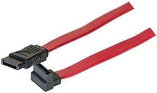 Exc 314006 Angled Up SATA to SATA 数据线 - 红色