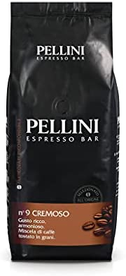 Pellini Caffè Cremoso No. 9咖啡豆,1包 1x 1公斤