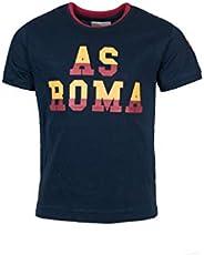 AS Roma 女孩儿童圆领 T 恤