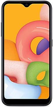 全无线三星 Galaxy A01 4G LTE 预付费智能手机 - 黑色 - 16 GB - 包括 SIM 卡 - CDMA