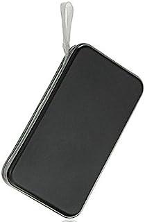FatColo CD 收纳袋 塑料 80 碟 CD DVD 收纳盒 收纳包 钱包 相册 (黑色)