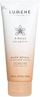 Lumene Kirkas Clarity Glow Reveal 60 秒面部护理液,3.4 液体盎司
