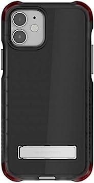 Ghostek Covert 透明设计适用于 iPhone 12 手机壳和 iPhone 12 Pro 手机壳金属支架兼容 MagSafe 和无线充电硅胶套 2020 iPhone12 5G 和 iPhone 12Pro