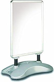 Deflecto A1 水基放置显示屏板带扣框 - 银色