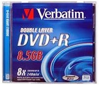 Verbatim DVD + R - DVD + RW Virgin (DVD + R,聚碳酸酯,珠宝)