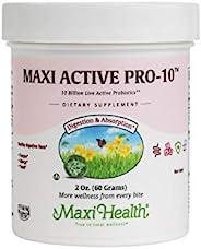 Maxi Health Active Pro-10 -非乳制品 - 健康吸收植物 - 2盎司/60g 粉末 - 犹太洁食