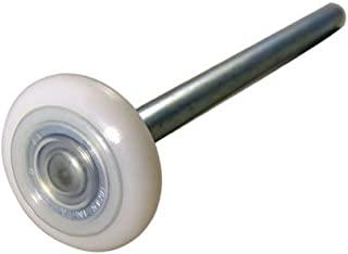 10 件套 --- 2 英寸 13 球尼龙车库门滚轮(7 英寸(约 17.8 厘米)杆)