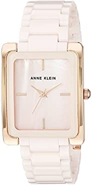 Anne Klein Women's Ceramic Bracelet Watch, AK/