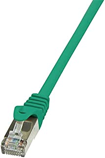 Logilink CP1055D CAT5e SF/UTP 接插线,2 米长,绿色,绿色,2 米长