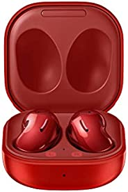 Samsung Electronics 三星电子 Galaxy Buds Live,真正的无线耳塞,带主动降噪(包括无线充电盒),神秘红色(美国版)