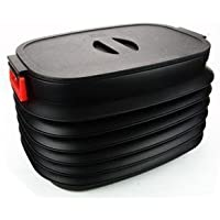 E路驰 37L超大容量折叠桶 魔术桶 车用垃圾桶 伸缩杂物桶