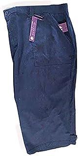 Gloria Vanderbilt 女士 Julia 中腰裤 七分裤 - 黑色