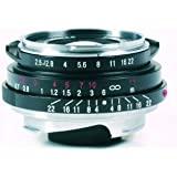 Voigtlander 彩色窄视镜 35mm f/2.5 广角手动焦距镜头 - 黑色