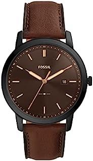 Fossil 手表 THE MINIMALIST SOLAR FS5841 男士 棕色